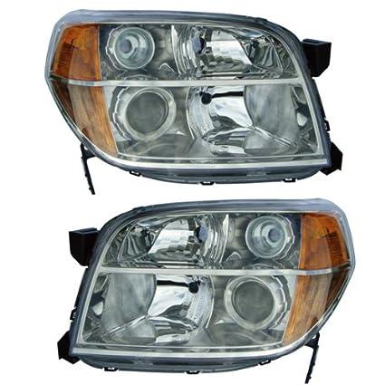 Amazon Com 2006 2008 Honda Pilot Headlight Headlamp Head Light Lamp