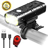 Sahara Sailor Bike Light, Pro-800 Lumens Bright USB Rechargeable Aluminum Alloy Bicycle Headlight, Cree LED Front Light, Wire Control, IPX6 Waterproof W Free Tail Light for ALL Bicycles, Road, MTB … Review