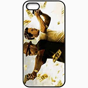 Personalized iPhone 5 5S Cell phone Case/Cover Skin 2 Guns Movie Movie Black