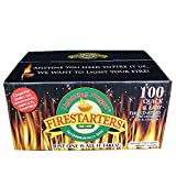 Lightning Nuggets Fire Starters - 100 Count - 6 PACK