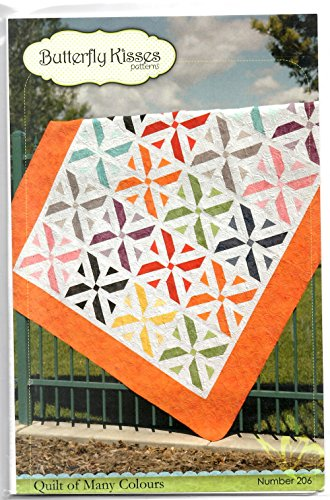 (Quilt of Many Colours Quilt Pattern By Butterfly Kisses Patterns 77.5