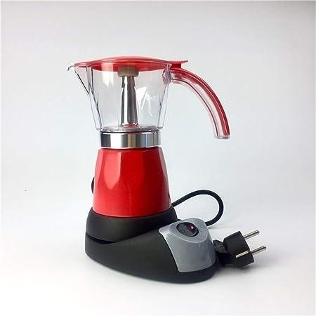 SJDY Cafetera 6 Tazas 300 ml Cafetera Espresso eléctrica Cafetera ...