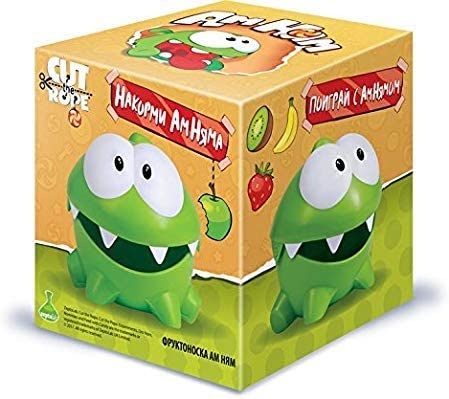 Om Nom сut The Rope Plastic Toy Fruit Lunch Box Om Nom Open Mouth Cut The