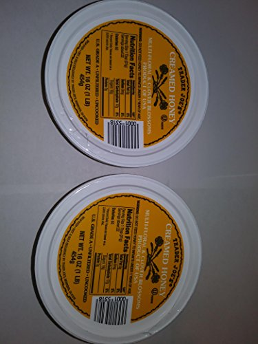 - Trader Joe's Spreadable Creamed Clover Honey - 2 Packs