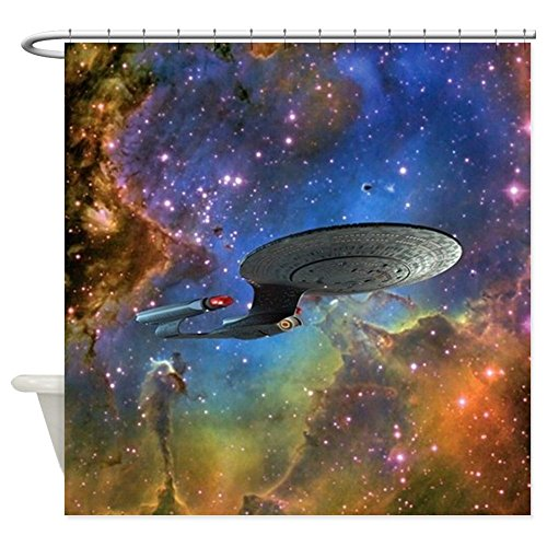 Eagle Nebula Fabric Shower Curtain