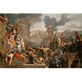 Canvas Prints Of Oil Painting ' Metellus Raising The Siege,1805 By Armand Charles Caraffe' 24 x 36 inch / 61 x 91 cm , Polyster Canvas Is For Gifts And Game Room, Kids Room And Living Room Decoration