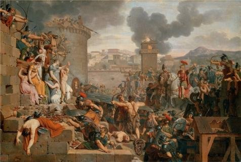 Oil Painting 'Metellus Raising The Siege,1805 By Armand Charles Caraffe' 20 x 30 inch / 51 x 76 cm , on High Definition HD canvas prints is for Gifts And Game Room, Kids Room And Living Room decor