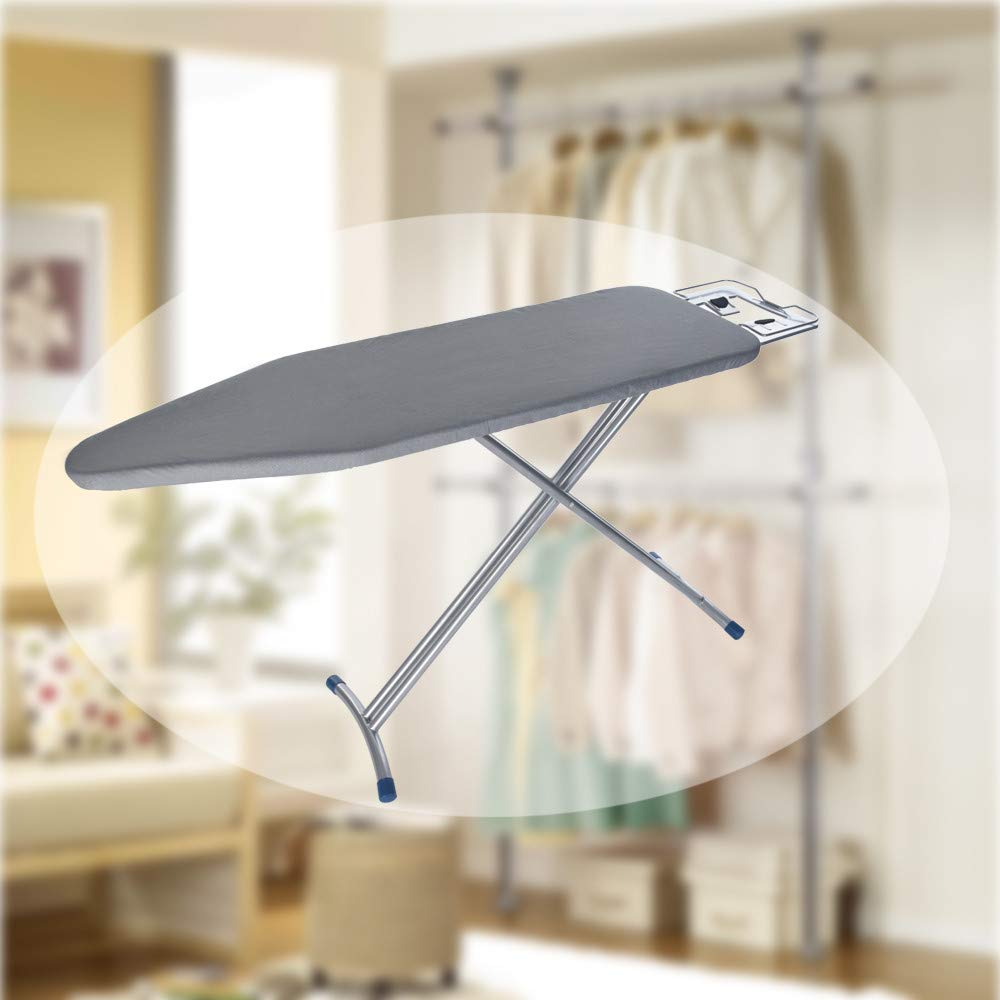WONdere 48x15'' Home ironing Board 4 Leg Foldable Adjustable Board by WONdere (Image #5)