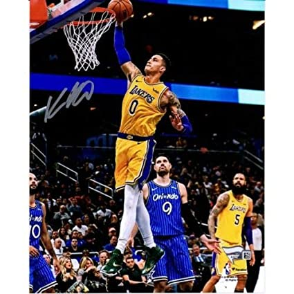 Amazon.com  KYLE KUZMA Autographed Los Angeles Lakers 8