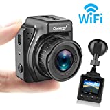 Dash Cam,1.5' LCD HD 1080P Dashboard Camera Recorder with G-Sensor, Loop Recording, WiFi, GPS and Colored Night Vision for car