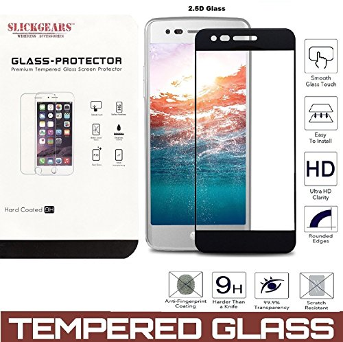 (LG Phoenix 3 / LG Fortune / LG Risio 2 / K4 2017 [TEMPERED GLASS] UltraClear 9H Impact Abrasion Resistance LCD Screen Protector (2.5D Curved BlackEdge))