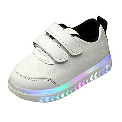 lower price with cost charm check out Baskets LED Bébé Enfant Rayé Chaussures Sport, Chaussure ...