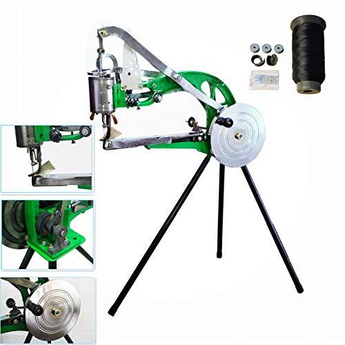 YEQIN Hand Machine Cobbler Shoe Repair Machine Manual Shoe Mending Machine Cotton Nylon Line Sewing Machine
