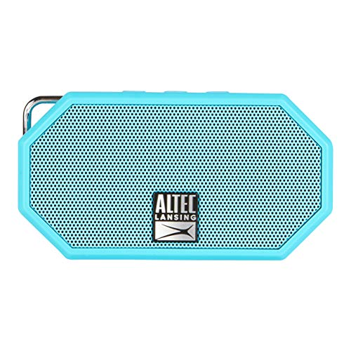 Altec Lansing IMW257 Mini H2O Wireless Bluetooth Waterproof Speaker (Aqua) - Multimedia Boom Chair