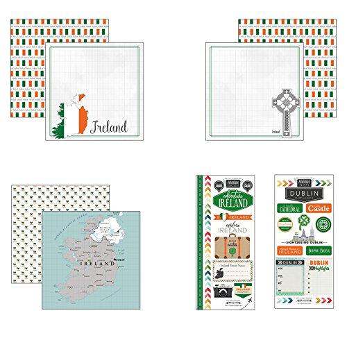Scrapbook Customs Ireland Adventure Scrapbook Kit