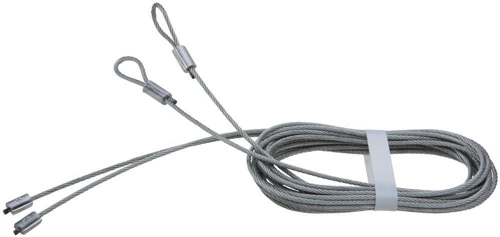 N280-362 Cables de elevaci/ón para puerta de garaje 2 unidades, galvanizados National Hardware