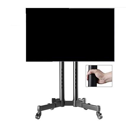 Amazon Com Exing Mobile Tv Cart 32 65 Inch Universal Tv