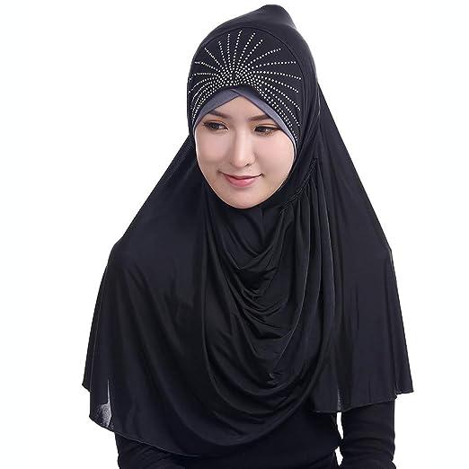 986f50de1b6 Muslim Women Slip-On Scarf- Islamic Dubai Turkish Ramadan Festival ...