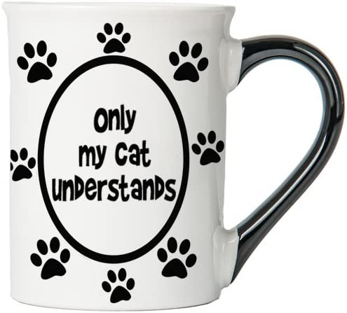 Only My Cat Understands Mug, Cat Mug, Gifts for Cat Lovers, Pet Coffee Cup, Ceramic Mug, Pet Gifts By Tumbleweed