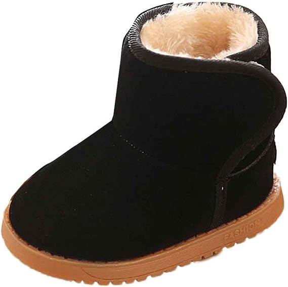 Primeros Pasos Zapatos bebé Niña Niño Botas de bebé de Invierno ...