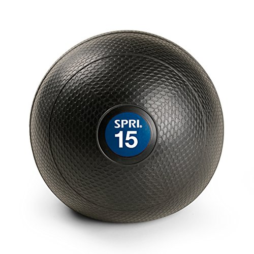 SPRI Dead Weight Slam Medicine Ball, 15-Pound