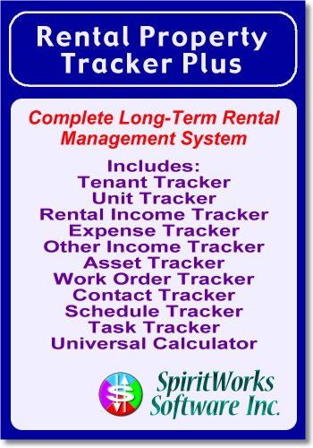 Rental Property Tracker Plus [Download] by SpiritWorks Software Inc.