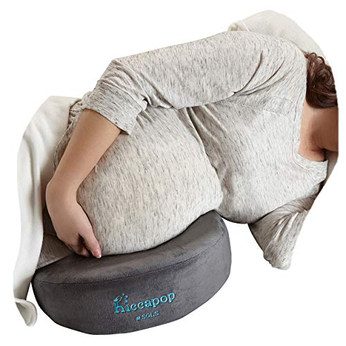 hiccapop Pregnancy Pillow Wedge for Maternity | Memory Foam Maternity Pillows Support Body, Belly, Back, Knees Black Friday & Cyber Monday 2018