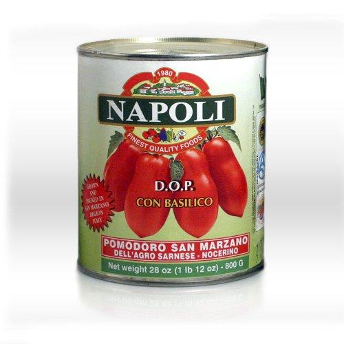 Pizza San Marzano (Napoli Italian San Marzano D.O.P. Whole Tomatoes 9-pack of 28 oz Cans)