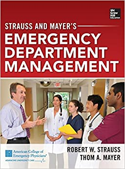 Book Strauss and Mayer's Emergency Department Management
