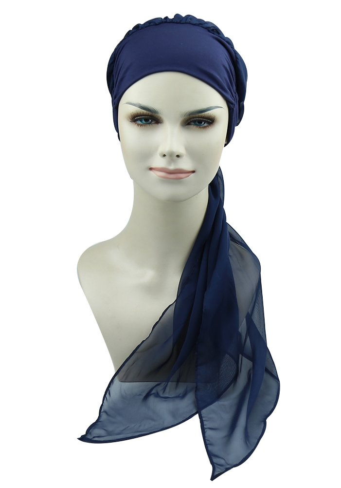Solid Head Scarf For Chemo Women Sleep Turbans Hair Loss Head Cover Gifts For Chemotherapy Patients