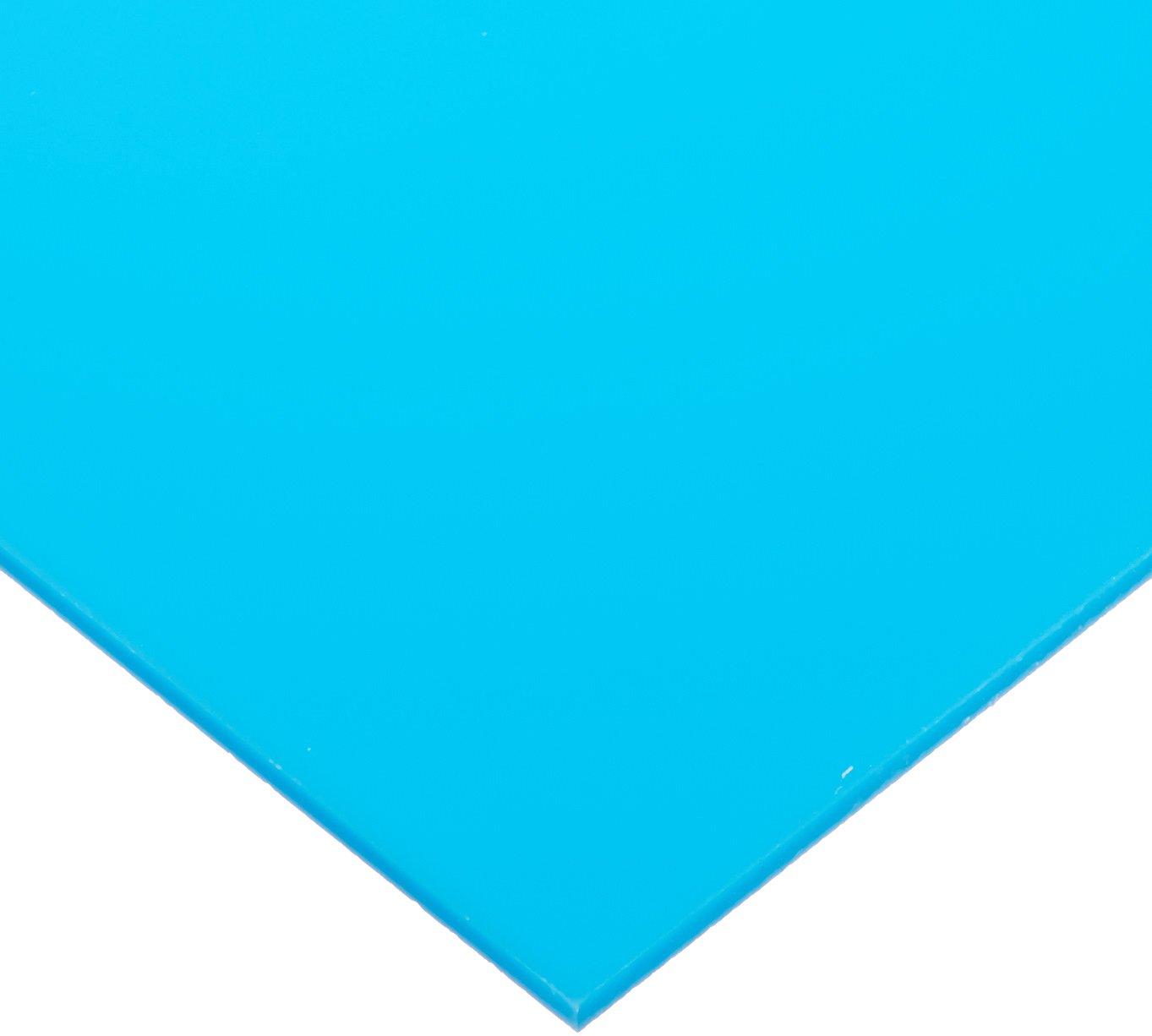 Cast Acrylic Sheet, Translucent Light Blue, 24