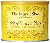 Salt & Vinegar Seasoned Virginia Peanuts - 10.5oz - PACK of 3!