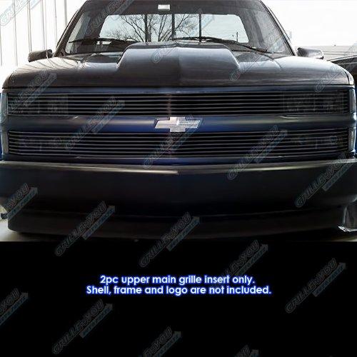- 94-99 C/K Pickup/Suburban/Blazer/Tahoe Phantom Black Billet Grille Grill Insert