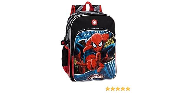 15.6 Litros Marvel 24524A1 Spiderman Mochila Escolar Color Azul