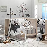 Lambs & Ivy Woodland Forest Gray/Tan Musical Baby