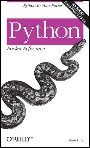 Python: Pocket Reference (Pocket Reference (O'Reilly))