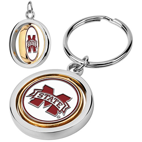 LinksWalker Mississippi State Bulldogs - Spinner Key Chain