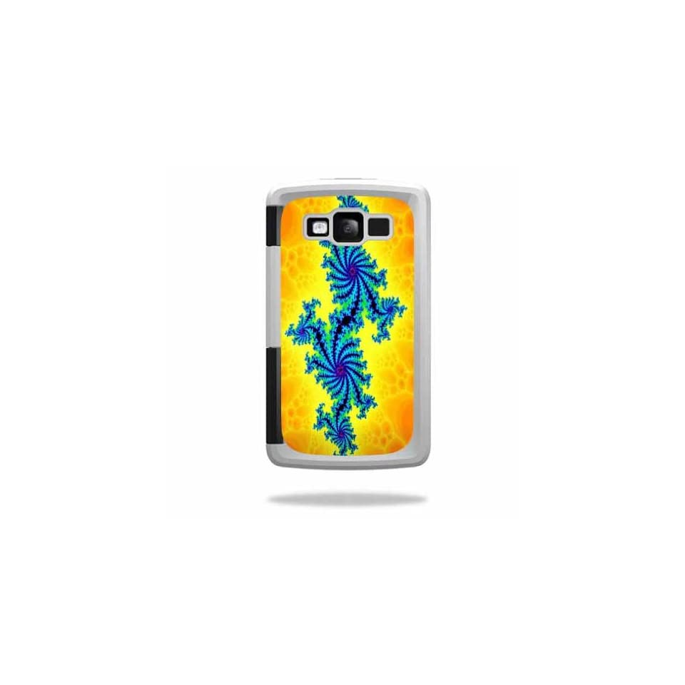MightySkins Protective Vinyl Skin Decal Cover for OtterBox Armor Samsung Galaxy S III 3 Case Sticker Skins Fractal Works Cell Phones & Accessories