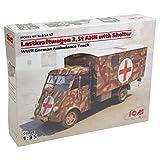 ICM Models Lastkraftwagen 3.5 T AHN with Shelter WWII German Ambulance Truck