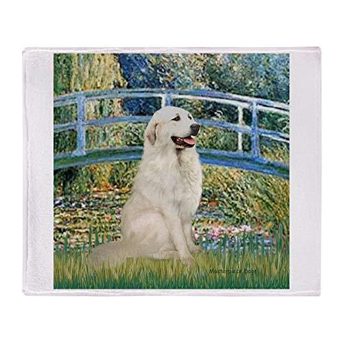 - CafePress Bridge/Great Pyrenees Soft Fleece Throw Blanket, 50