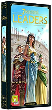 7 Wonders Leaders Expansion (English Version) A board game by Repo Production from Antoine Bauza