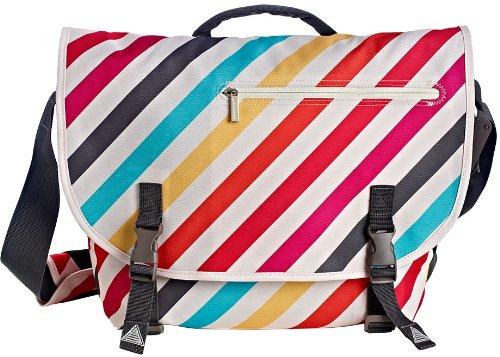 Studio C Tutti Stripes Collection Raleigh Messenger Bag (94060) (Bag Raleigh)