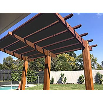 Amazon.com: Alion Home - Toldo para pérgola (HDPE, permeable ...