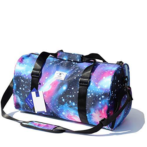 Original Floral Water Resistant Duffel Bag Gym bag Weekender Travel Bag for Gym Beach Travel School Daily -
