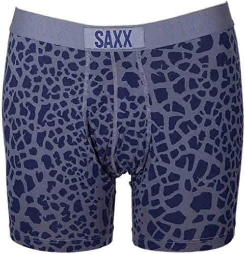 SAXX Underwear Co. Saxx Vibe Boxer Modern Fit Cobalt/Shatter S by SAXX Underwear Co.
