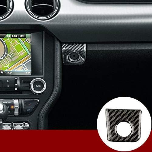 Armrest Storage Box Switch Glover Frame Cover Trim  für Ford Mustang chrome 3700