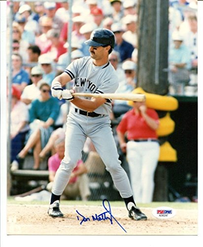 Autographed Mattingly Photo - Don Mattingly Signed Photo 8x10 Autographed Yankees PSA/DNA AD93247