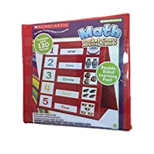 Scholastic Math Pocket Chart Activity Center - includes over 130 cards
