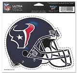 """Houston Texans Team Logo 5""""x6"""" NFL Helmet Decal"""
