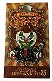 Universal Studios Halloween Horror Nights 2015 25th Anniversary Jack the Clown As The Ringmaster Metal Trading Pin Black Variant